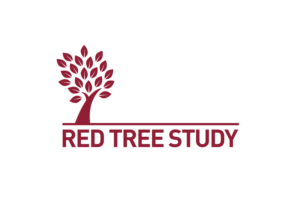 Red tree study logo