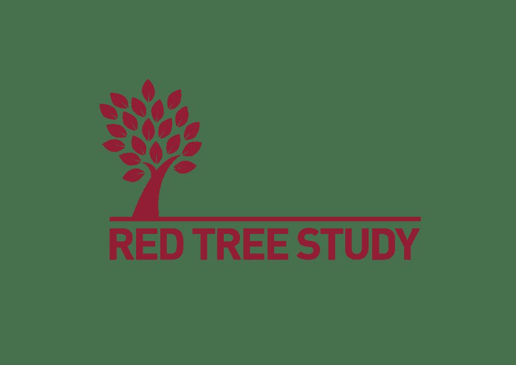 Red tree study logo