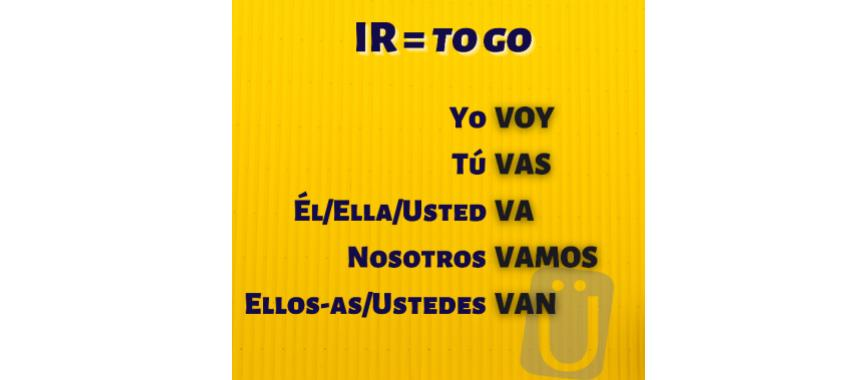 verb ir spanish