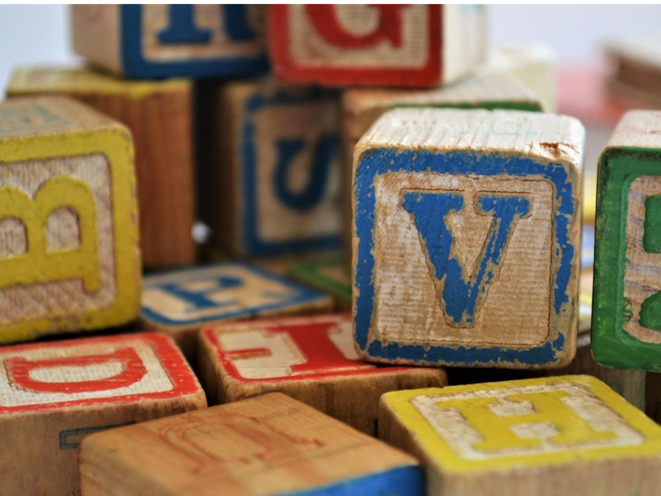 wooden letters past perfect spanish quiz